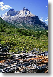 cuernos, latin america, los, mountains, patagonia, vertical, photograph