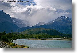 horizontal, lakes, latin america, mountains, patagonia, photograph
