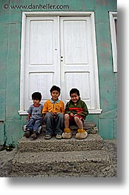 boys, latin america, patagonia, people, vertical, photograph