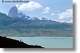 central, hiking, horizontal, latin america, patagonia, torres, torres del paine, photograph