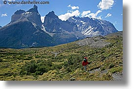 horizontal, latin america, massif, patagonia, torres, torres del paine, viewing, photograph