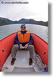 boats, fisheye lens, gary, gary mary, latin america, patagonia, vertical, wt people, photograph