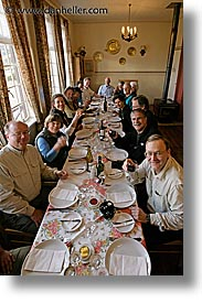dinner, groups, latin america, patagonia, vertical, wt people, photograph