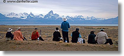 groups, horizontal, latin america, lunch, panoramic, patagonia, spots, wt people, photograph