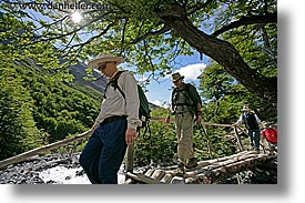 crossing, groups, horizontal, latin america, patagonia, rivers, wt people, photograph