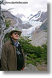 glaciers, henry, latin america, patagonia, vertical, viewing, wt people, photograph
