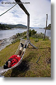 hammock, jan vic, latin america, patagonia, vertical, vic, wt people, photograph