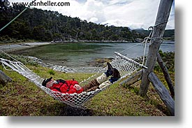 hammock, horizontal, jan vic, latin america, patagonia, vic, wt people, photograph