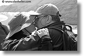 black and white, horizontal, karen neil, latin america, patagonia, triptych, wt people, photograph