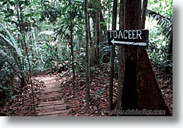 aceer, amazon, horizontal, jungle, latin america, peru, rivers, signs, photograph