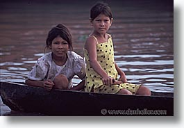 amazon, childrens, horizontal, jungle, latin america, people, peru, river people, rivers, photograph