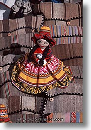 capital of peru, cities, cityscapes, cuzco, dolls, latin america, market, peru, peruvian capital, quechua, towns, vertical, photograph
