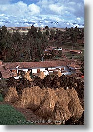 ancient ruins, andes, architectural ruins, inca trail, incan tribes, latin america, mountains, peru, stone ruins, urubamba, vertical, photograph
