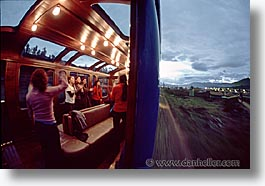 horizontal, latin america, motion blur, nite, peru, train tracks, trains, photograph