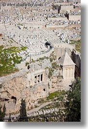 bnei hezir, cemetary, graves, gravestones, israel, jerusalem, middle east, tombs, vertical, zechariah, photograph