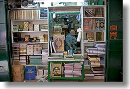 books, horizontal, israel, jerusalem, merchandise, middle east, vendors, photograph