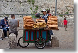 bread, horizontal, israel, jerusalem, merchandise, merchant, middle east, photograph