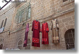 dresses, hangings, horizontal, israel, jerusalem, merchandise, middle east, womens, photograph