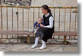 babies, girls, horizontal, israel, jerusalem, jewish, middle east, people, religious, photograph