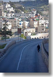 highways, israel, jerusalem, men, middle east, streets, vertical, walking, photograph