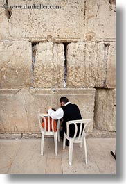 childrens, clothes, hats, israel, jerusalem, jewish, men, middle east, religious, temples, vertical, walls, western wall, photograph