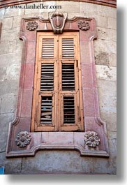 israel, jerusalem, middle east, old, shutters, vertical, windows, woods, photograph