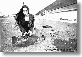 andrea, highways, horizontal, models, photograph