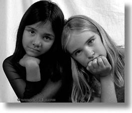 blonds, brunette, childrens, dora, friends, girls, horizontal, models, monica, pria, photograph