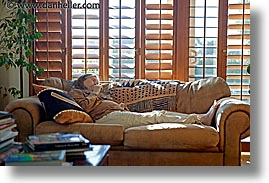 couch, horizontal, jills, models, photograph
