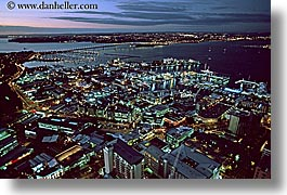 auckland, cityscapes, horizontal, new zealand, nite, photograph