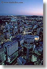 auckland, cityscapes, new zealand, nite, vertical, photograph