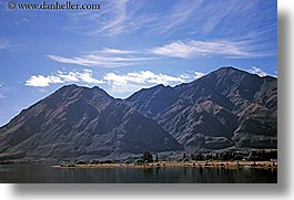 horizontal, lake wanaka, lakes, mountains, new zealand, wanaka, photograph