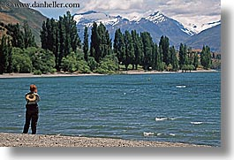 horizontal, lake wanaka, lakes, new zealand, viewing, wanaka, photograph