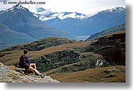 horizontal, lake wanaka, new zealand, overlook, womens, photograph