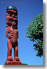 maori, new zealand, sculptures, vertical, photograph