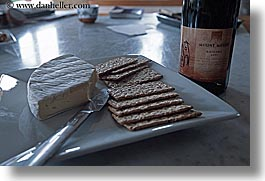cheese, crackers, horizontal, new zealand, wines, photograph