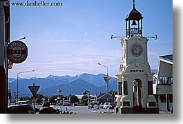 bell towers, hokitika, horizontal, new zealand, photograph
