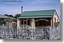 cottage, hokitika, horizontal, new zealand, revell, streets, photograph