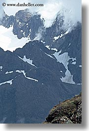 mountains, new zealand, routeburn, scenics, vertical, photograph