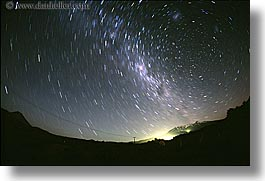 australis, horizontal, new zealand, nite, star trails, stars, tongariro, photograph