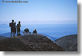 hikers, horizontal, lunch, new zealand, spots, tongariro crossing, photograph