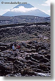 mountains, new zealand, ngauruhoe, tongariro crossing, vertical, volcano, photograph