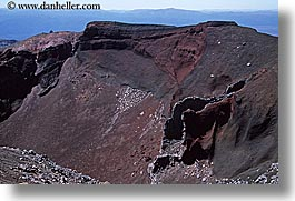 crater, horizontal, new zealand, red, rip, tongariro crossing, volcano, photograph