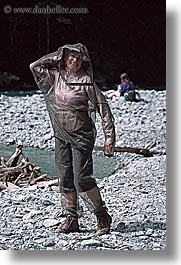 bug nets, new zealand, vertical, wilderness travel, womens, photograph