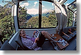 horizontal, new zealand, reading, wilderness travel, womens, photograph