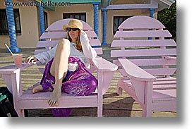 bahamas, capital, capital city, caribbean, chairs, cities, dan jill, horizontal, island-nation, islands, jills, nassau, nation, pink, resort, royal bahamian, sandals, tropics, vacation, photograph