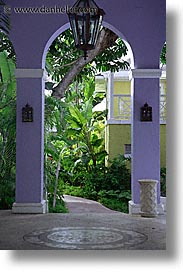 arches, bahamas, capital, capital city, caribbean, cities, island-nation, islands, nassau, nation, purple, resort, royal bahamian, sandals, tropics, vacation, vertical, photograph