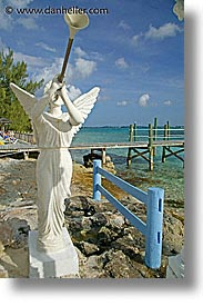 angels, bahamas, capital, capital city, caribbean, cities, island-nation, islands, nassau, nation, resort, royal bahamian, sandals, tropics, trumpet, vacation, vertical, photograph