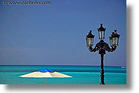 bahamas, capital, capital city, caribbean, cities, horizontal, island-nation, islands, lamps, nassau, nation, ocean, resort, royal bahamian, sandals, tropics, umbrellas, vacation, photograph