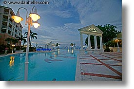 bahamas, capital, capital city, caribbean, cities, evening, horizontal, island-nation, islands, nassau, nation, pools, resort, royal bahamian, sandals, slow exposure, tropics, vacation, photograph